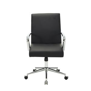 Madison Medium Back Chair Black