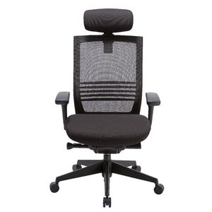 Manet High Back Mesh Chair Black