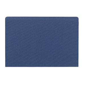 J.Burrows Manilla Folder Foolscap Single Navy