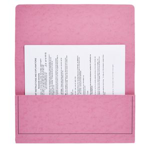 J.Burrows Foolscap Document Wallet Pink