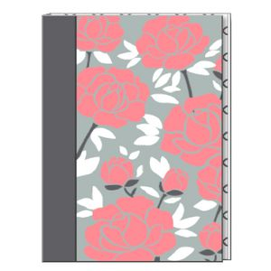 "6 x 8"" Journal Pink Petals Design 240 Pages"