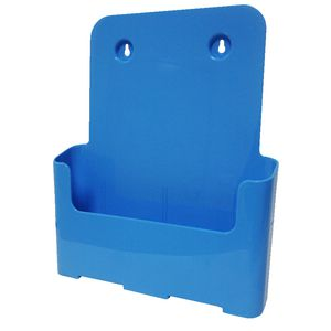 deflect-O A4 Brochure Holder Blue