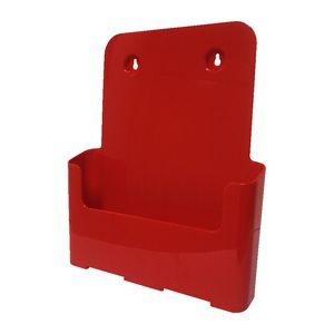 deflect-O A4 Brochure Holder Red