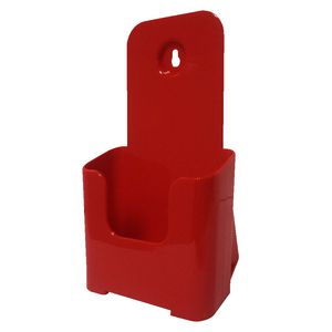 deflect-O DL Brochure Holder Red