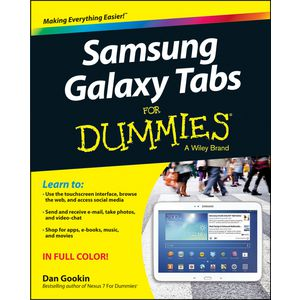 Samsung Galaxy Tabs For Dummies Book