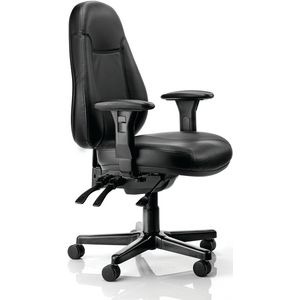 Buro Persona Chair Leather Black