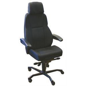 KAB Director II Fabric Chair Black