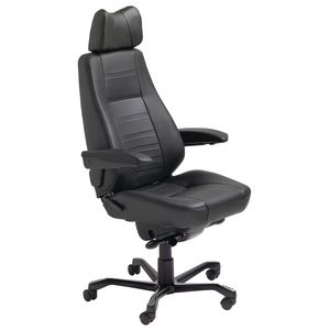 KAB Controller Chair Leather Black