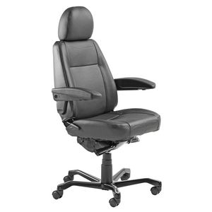 KAB Manager Chair Leather Black