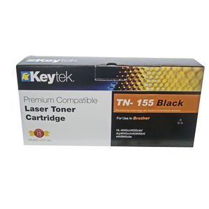 Keytek Brother TN-155 Toner Cartridge Black