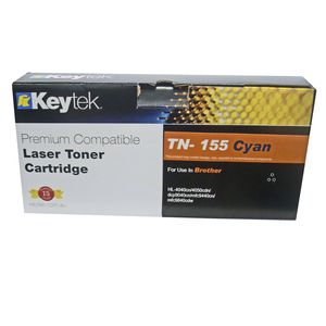 Keytek Brother TN-155 Toner Cartridge Cyan