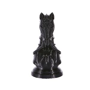 3D Model Chess Piece Knight Black