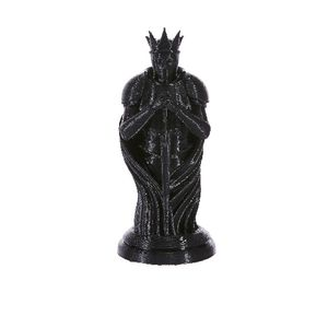 3D Model Chess Piece King Black