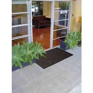 Matpro Ribbed Mat 600 x 900mm Pepper