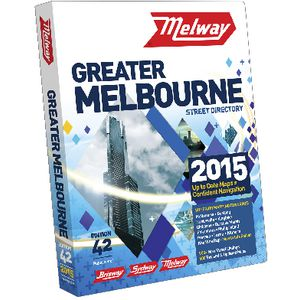 Melway Street Directory of Greater Melbourne No 1