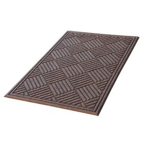 Kenware Eco 900x1500mm Door Mat Walnut
