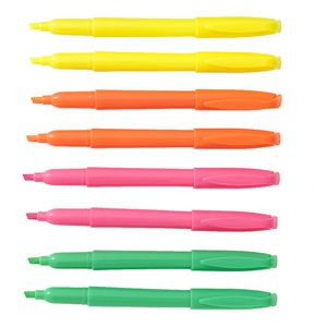 Keji Slim Highlighters Assorted Colours 8 Pack