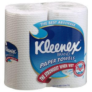 Kleenex Kitchen Paper Towel 60 Sheets per 2 Pack