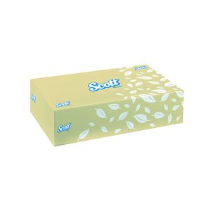 Scott 2 Ply Facial Tissues 100 Sheet