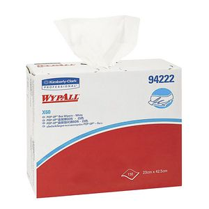 Wypall X60 Pop-Up Box Wipers 130 Sheet 8 Pack