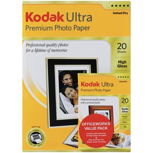 Kodak Ultra Premium Photo Paper Value Pack