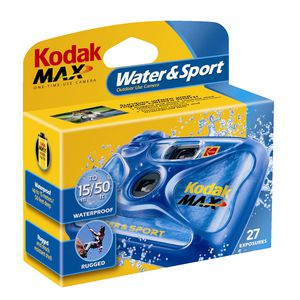 Kodak Single Use Camera - Water & Sport 27 exposure
