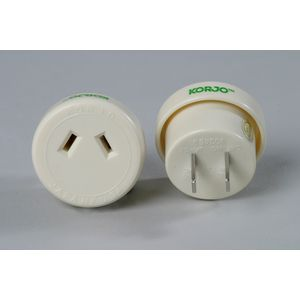 Korjo Outboundl Japan/USA 2-pin Travel Adaptor