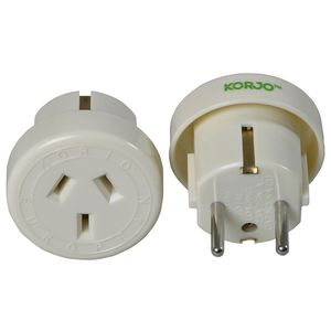 Korjo Outbound Europe/Bali Travel Adaptor