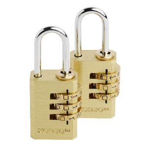 Korjo Combination Lock 2 Pack