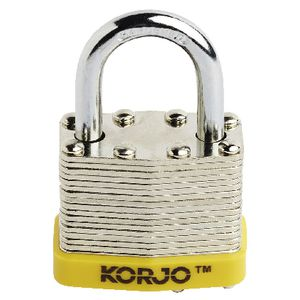 Korjo Steel Luggage Lock 40mm