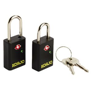 Korjo Travel TSA Luggage Locks 2 Pack