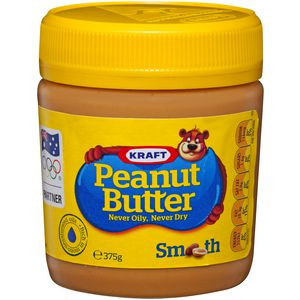 Kraft Peanut Butter Smooth 375g