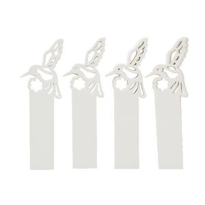 Little B Decorative Tabs Hummingbird 4 pack