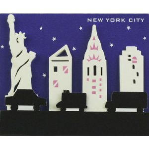 Little B Decorative Tabs New York 4 pack
