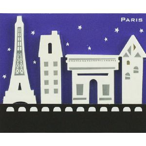 Little B Decorative Tabs Paris 4 pack