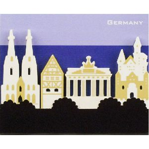 Little B Decorative Tabs Germany 4 pack