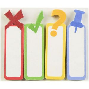 Little B Decorative Tabs Punctuations 4 Pack
