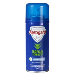 Aerogard Tropical Strength Insect Repellent 100grm