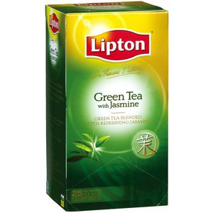 Sir Thomas Lipton Green Tea Jasmine Tea Pack/25