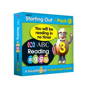 ABC Reading Eggs Starting Out Book Pack 3