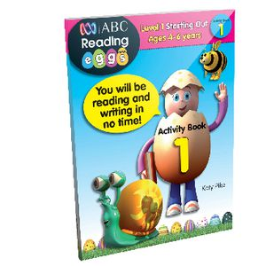 ABC Reading Eggs Starting Out Activity Book 1