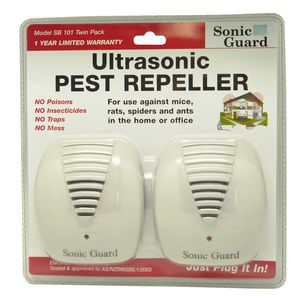 Sonic Guard Ultrasonic Pest Repeller 2 Pack
