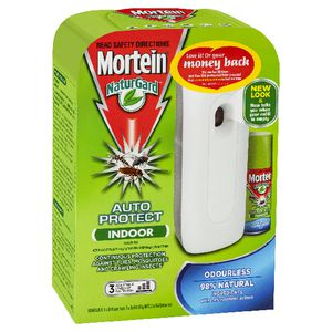 Mortein NaturGard Auto Protect Indoor Odourless 154g
