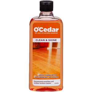O'Cedar Clean and Shine Floor Cleaner 450mL
