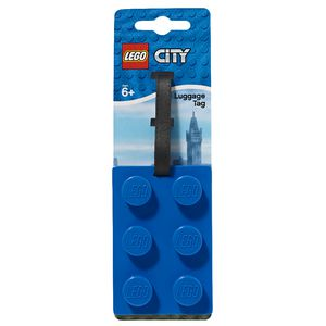LEGO City Luggage Tag Assorted Colours