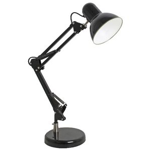 LEDware 5W LED Retro Desk Lamp with Base and Clamp Black