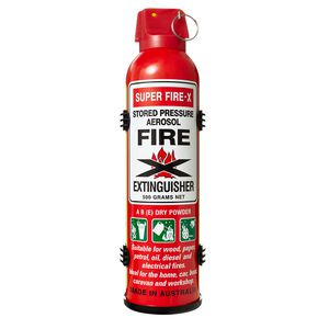 Super Fire-X Portable Extinguisher 500g