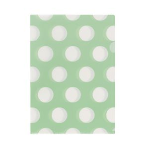 Letter File A4 Single Printed Vintage Green