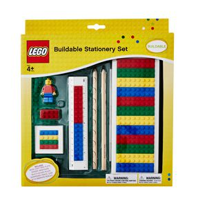 LEGO Buildable Stationery Set
