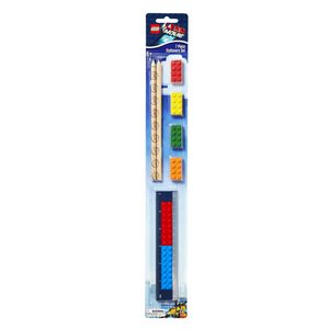 LEGO Movie Stationery Set 7 Piece
